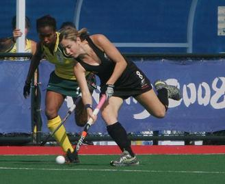 Playing the last game of the 2008 Beijing Olympics vs South Africa